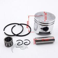 44mm Piston 12mm Pin Ring Needle Bearing For 49cc 2 Stroke Mini ATV Pocket Bike