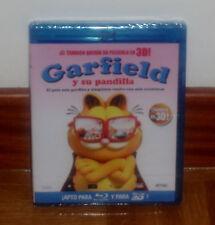 GARFIELD Y SU PANDILLA BLU RAY 3D PRECINTADO NUEVO ANIMACION (SIN ABRIR) R2