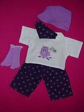 Für my first Baby Annabell Puppe 36cm Kleidung Puppenkleidung Shirt Hose Hut