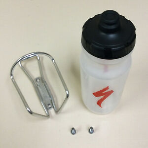 SPECIALIZED ALLOY WATER BOTTLE CAGE AND BOTTLE