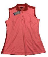 Galvin Green Ladies Martha Ventil8 Sleeveless Golf Polo Shirt - RRP£60 - M L