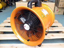 300mm fume extractor ventilator fan for spray paint workshop dynotune & 5m hose