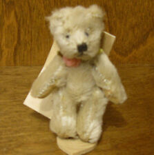 "Russ Berrie MO BEARS & FRIENDS #21051 BRETWOOD, 3.25"" Mohair From Retail Store"