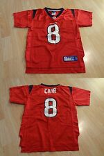 Youth Houston Texans David Carr L (7) Jersey Reebok (Red) Jersey 22ff04bb3