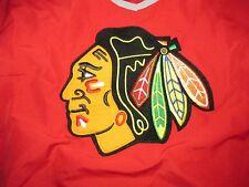 Chicago Blackhawks Majestic Windbreaker Pull Over Shirt Sz M New Hockey NHL