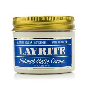 NEW Hair Care Layrite Natural Matte Cream (Medium Hold, Matte Finish, Water