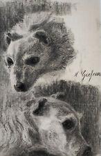 """Kliefert-Gießen, Mathilde (1887 Pries bei Kiel – 1978 Stralsund) """"Hundestudie"""""""