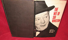 The WIT of Sir WINSTON by Adam SYKES & IAIN Sproat. First 1965 HbDj Collectable!