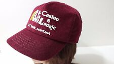 BJ's Casino Lounge Cut Bank, Montana Vintage Corduroy Snapback Retro Trucker Hat