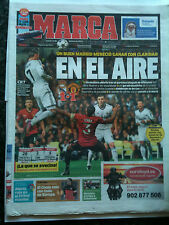 Real Madrid 2012/13 v Manchester United Ch LGE marca papel día después del juego