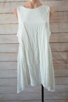 Spicy Sugar Dress Size 14 Large White Cream Broderie Anglaise Shift Dress
