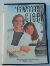 Dawson's Creek Original Unaired Pilot WB Rough Cut PROMO DVD Season 123456