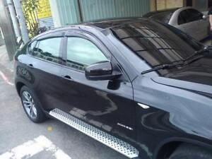 BMW X6 2008-2014 E71 1ST GEN SUV Slimline Window Visors/Weathershields (4PCS)