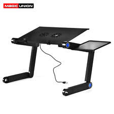 Aluminum Alloy Laptop Table Folding Notebook Desktop Stand With Cool