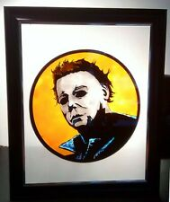 Halloween's Michael Myers Stained Art Glass