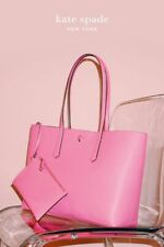 🌸 NWT Kate Spade Molly Large Tote Pebble Leather w/Pouch Hibiscus Tea NEW $228