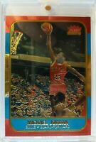 1996 96 Fleer POLYCHROME GOLD Michael Jordan #NNO, MJ 1986 Retro RC Style