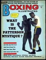 BOXING ILLUSTRATED MAGAZINE MAY 1972 FLOYD PATTERSON