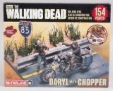 McFarlane Toys Building Sets The Walking Dead TV Daryl Dixon with Chopper