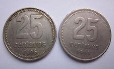 2 X 25 Centavos-Argentina