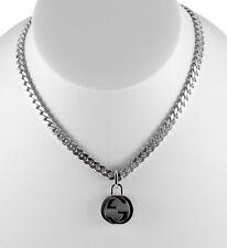 Gucci Interlocking G Pendant 925 Silver Necklace YBB356286001 | YBB35628600100U