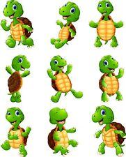 Tortoise Animal Bedroom wall stickers Vinyl Graphics Nursery Children's Window
