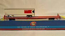 HO Scale Athearn 85' CP Rail All Purpose Flat 45' Trailer NOS 74235