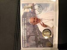 2€ COMM JMJ RIO 2013  --- RARE !!!