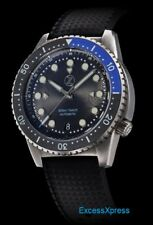 New Zelos Mako 500m Black / Blue Batman Steel Swiss Movement 40mm w/ WARRANTY