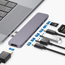 """USB C Adapter, Compatible for MacBook Pro 13"""" 15"""" Adapter, Apple 2016/2017/2018"""
