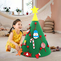 3D DIY Felt Christmas Tree New Year Party Ornaments Kids Gifts Toys Home Decor