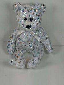 "2000 TY Beanie Babies ""The Beginning"" Plush Bear Stuffed Animal"
