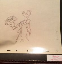 Vintage Goofy 'How to Dance' 1955 Production Drawing Cel Disney