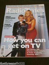 RADIO TIMES - CAT DEELEY & PATRICK KIELTY - JULY 26 2003