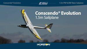 E-flite Eflite Conscendo Evolution 1.5m PNP Plug In Play RC Glider EFL01675