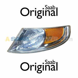 SAAB 9-5 02-05 TURN SIGNAL CORNER LIGHT DRIVER NEW GENUINE OEM 12761340 5336763
