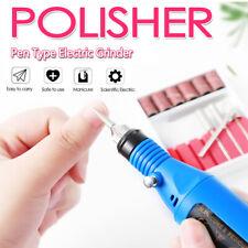 Electric Nail File Art Drill File Acrylic Manicure Portable Pedicure Machine Kit