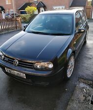 Black VW MK4 Volkswagen Golf 1.8T GTI 25th Anniversary Edition 3dr 202bhp
