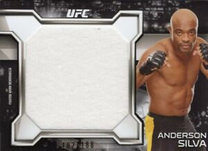 Anderson Silva 2016 Topps UFC Knockout Relic Card #102/188