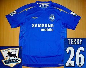 sale * MINT* Chelsea TERRY 2005 2006 shirt CENTENARY 100 jersey soccer camiseta