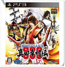 PS3 Sengoku Basara Sanada Yukimura-Den JAP SONY PLAYSTATION Capcom Action Games