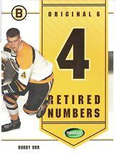 2003-04 Parkhurst Original Six Boston Inserts #B6 Bobby Orr