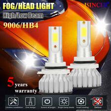 2000W CREE 9006/HB4 LED Headlight Kits Hi/Lo Power 6000K White 480000LM Bulb EW