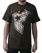 Famous Stars & Straps Mens Chocolate TF BOH T-Shirt Small 104484 Travis Blink182