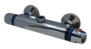 """THERMOSTATIC TORPEDO BAR SHOWER MIXER VALVE TAP WITH 3/4"""" BSP TOP OUTLET, 058/2"""