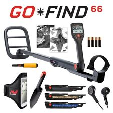 "Minelab Go-Find 66 Metal Detector with 10"" concentric coil Pro-Find 15 Bundle"