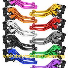 For Honda/Kawasaki/KTM/Ducati/Yamaha CNC Short Adjustable Brake Clutch Levers