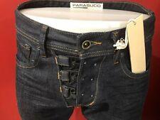 PARASUCO Men's Dark Denim Latch Fly Tapered Slim Fit Jeans - Size 29W x 35L -NWT