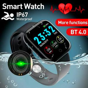 Smart Watch Fitness Tracker Blood Pressure Smartwatches Waterproof Heart Rate Fo