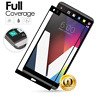 Black Full Screen Coverage Tempered Glass Screen Protector for LG V20